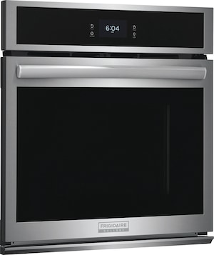 """27"""" Single Electric Wall Oven with Total Convection Stainless Steel GCWS2767AF"""
