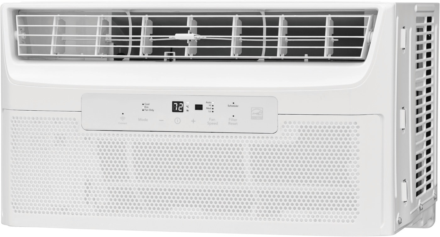 6,000 BTU Quiet Temp Smart Room Air Conditioner White GHWW063WB1