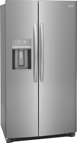 "22.3 Cu. Ft. 36"" Counter Depth Side by Side Refrigerator Stainless Steel GRSC2352AF"